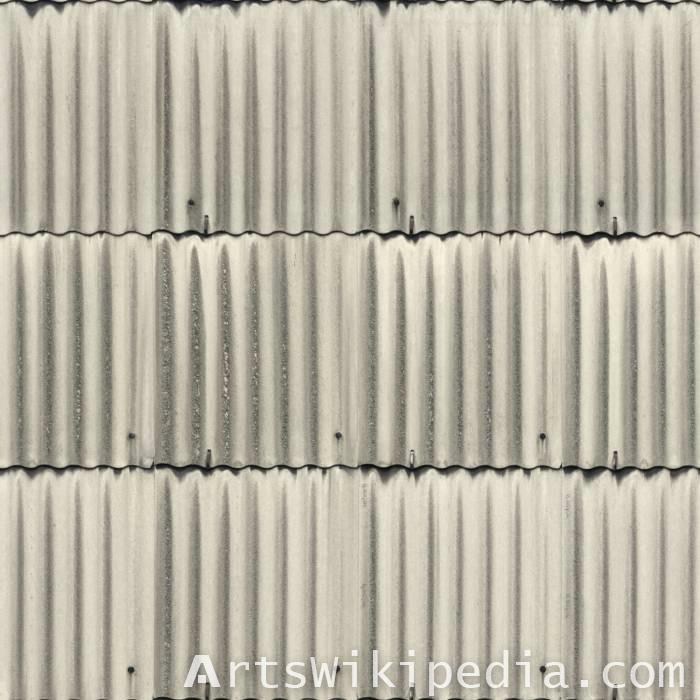 roofing plate asbestos image