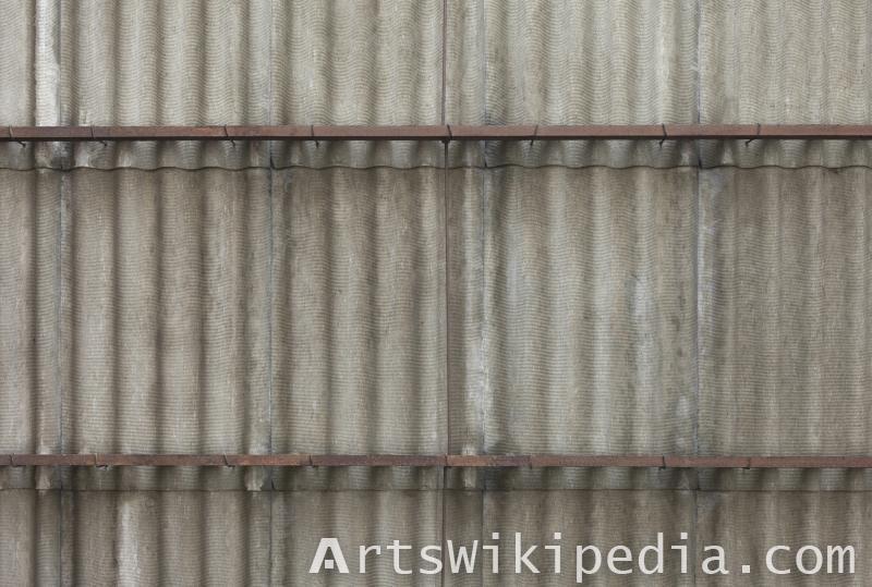 asbestos wall material