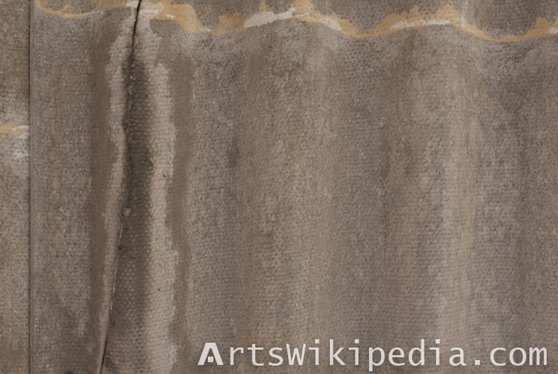 slate roof texture closeup