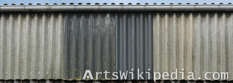 real metal plate texture