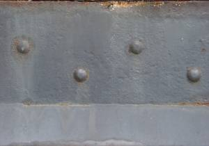 metal with bolt metal wall material