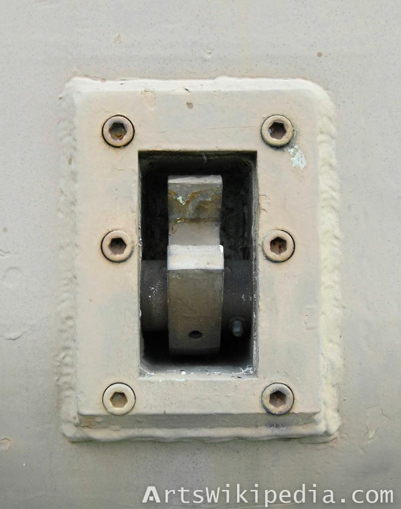 old electric socket