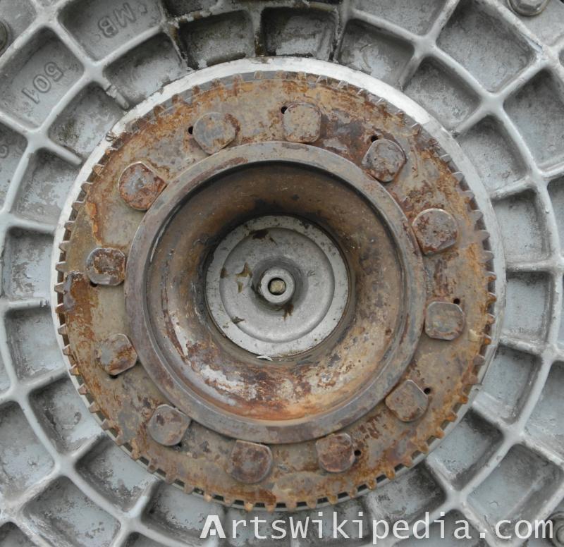 circular metal structure