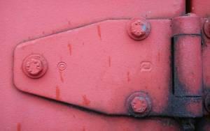 red-painted-metal-joint
