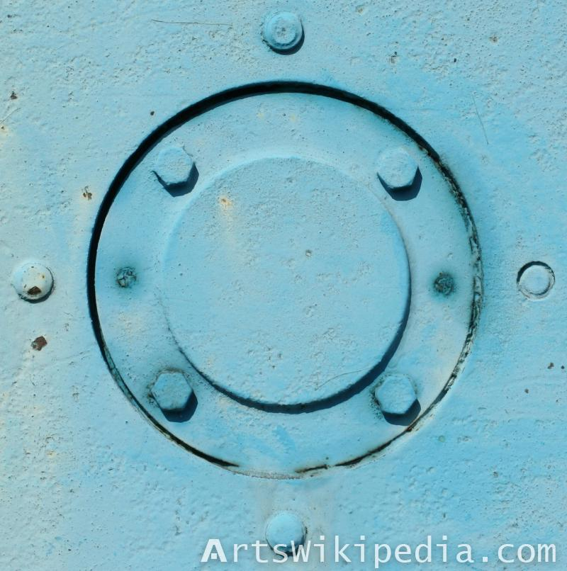 bridge blue bolt texture
