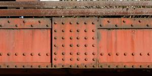 red-painted-bridge-studded-joint