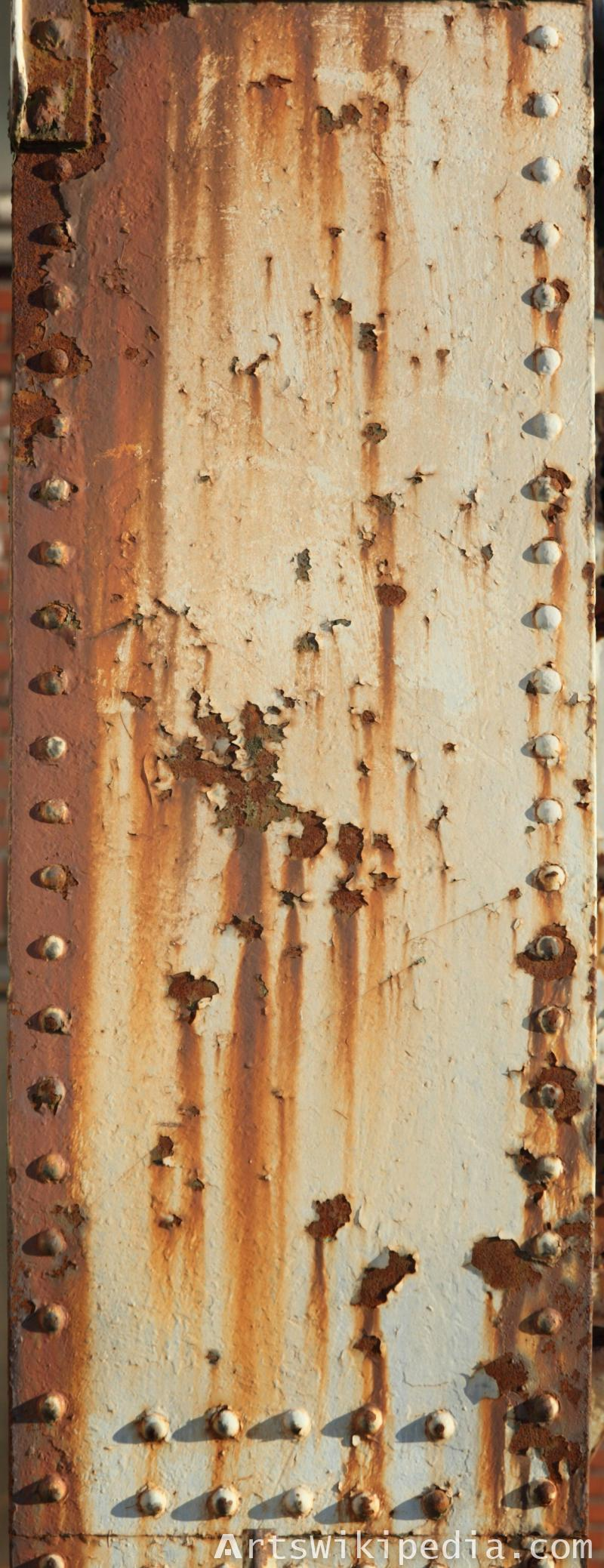 free rusty decayed metal