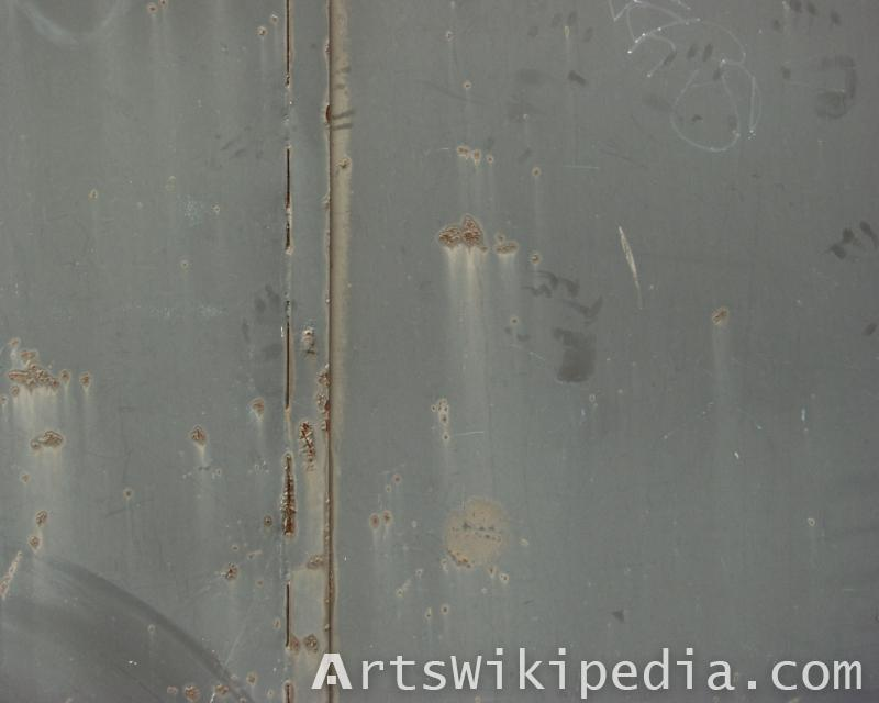 painted metal door texture