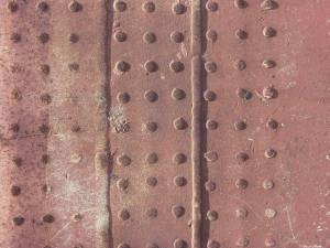 old rusty bridge part