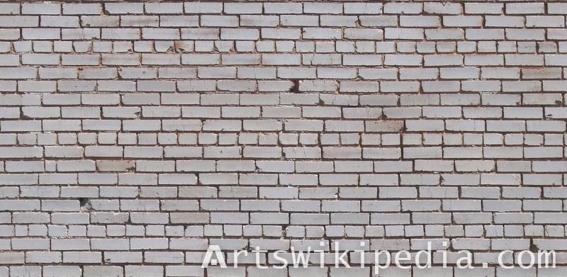 dirty white brick texture