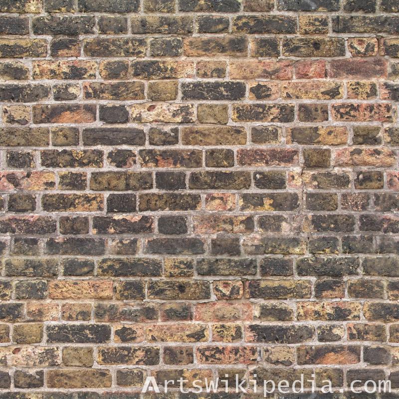 Broken brick texture