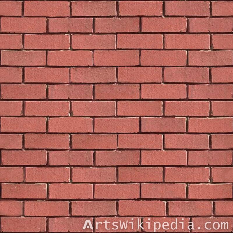Free red Brick material