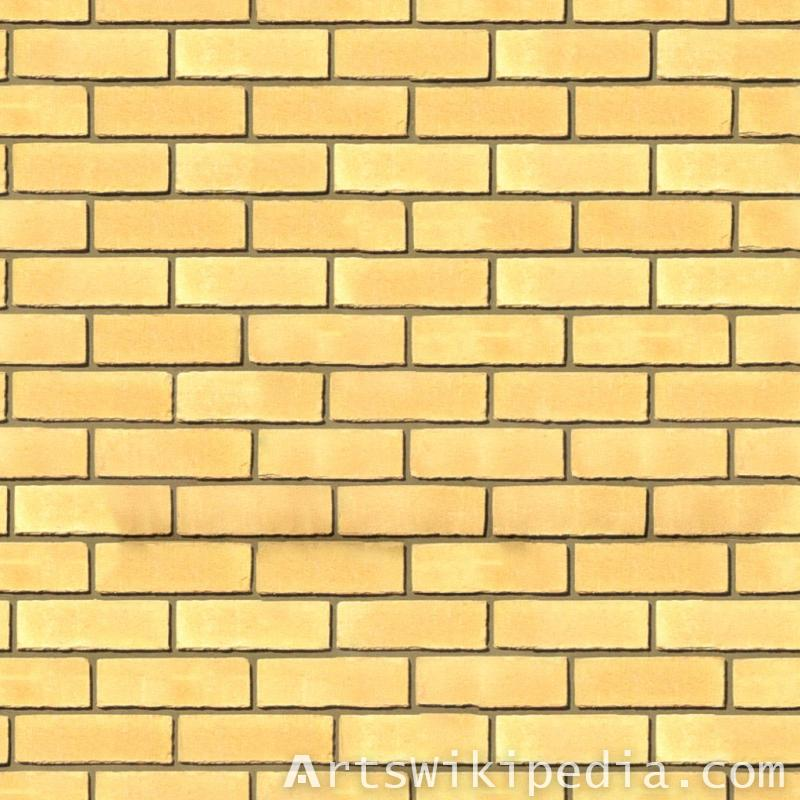 yellow Free Brick texture