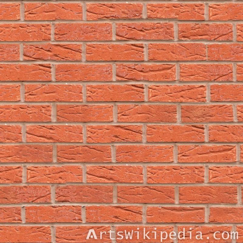 red Free Brick texture