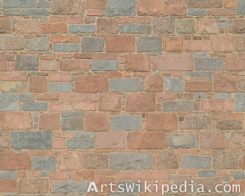 different sized brick texture