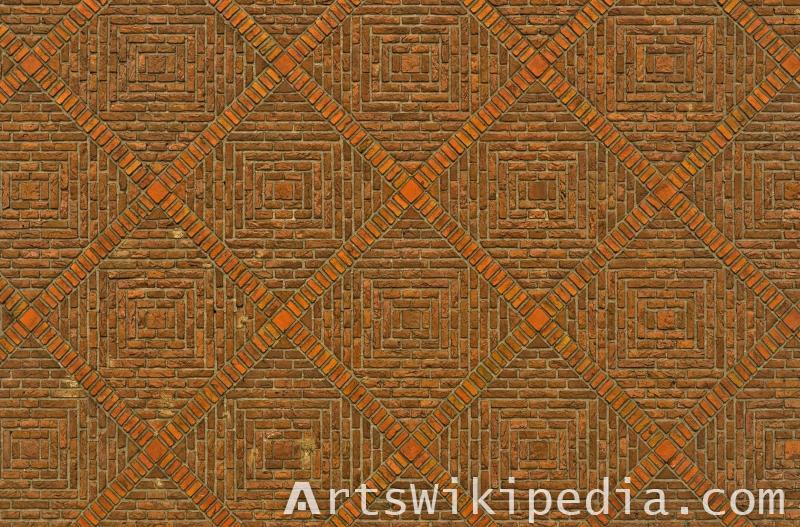 decorative brick texture
