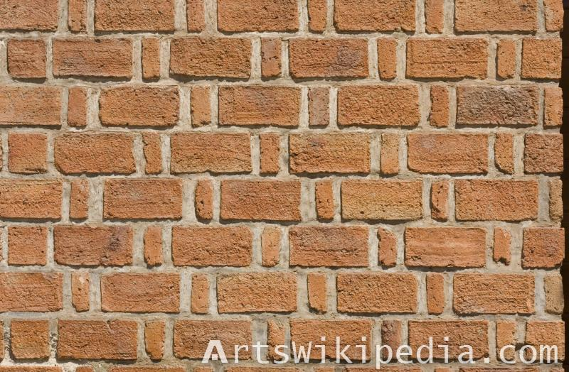 large and small brick design