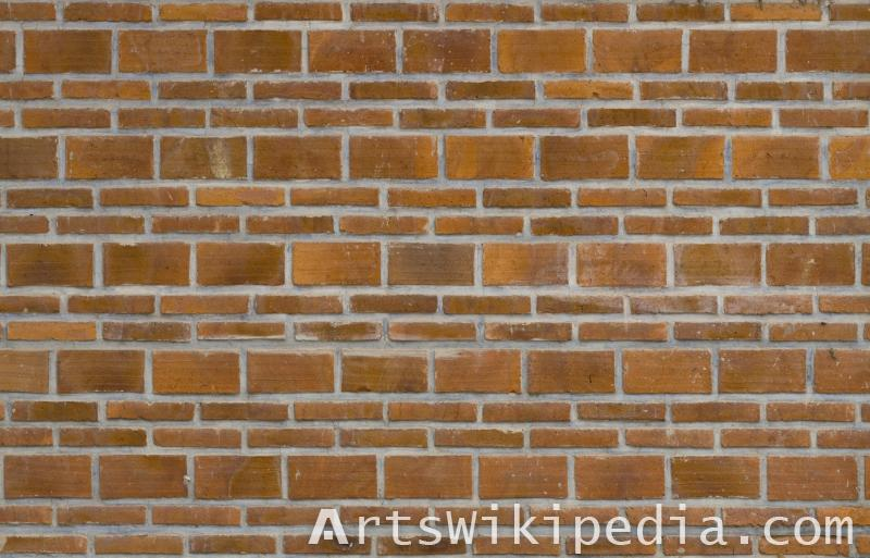 three layered brick texture
