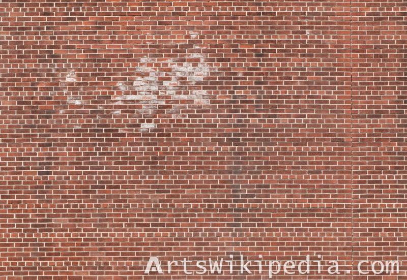 damaged brick texture