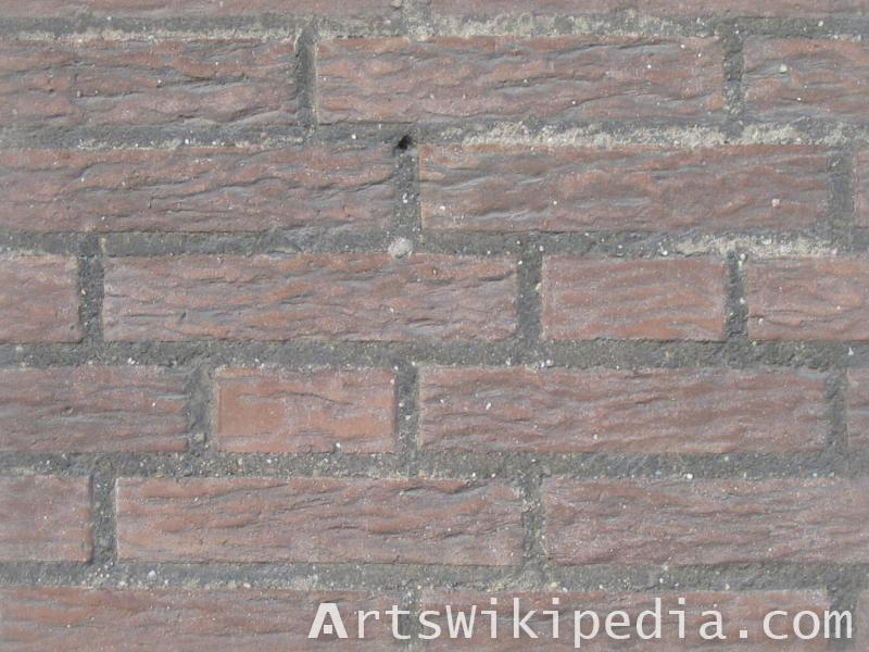 irregular sized brick texture