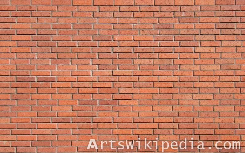 Texture Brick Clean Red Seamless