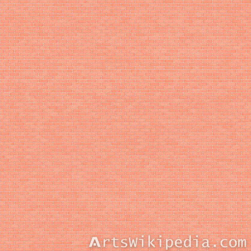 High resolution pink brick texture
