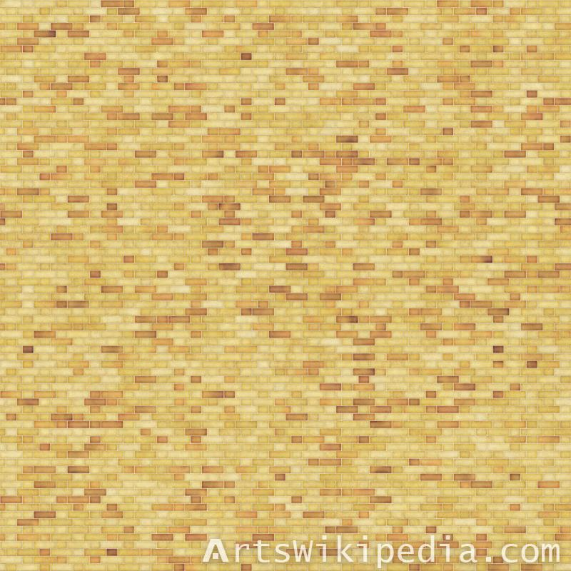 6k yellow brick texture