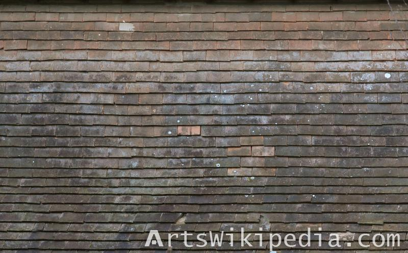 old shingles texture