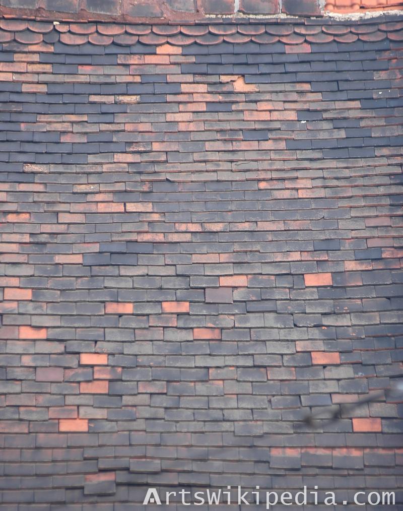 roof ceramic texture