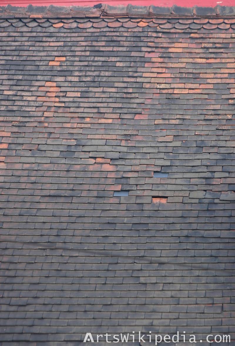 free roof ceramic texture