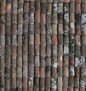 old-ceramic-roof-texture