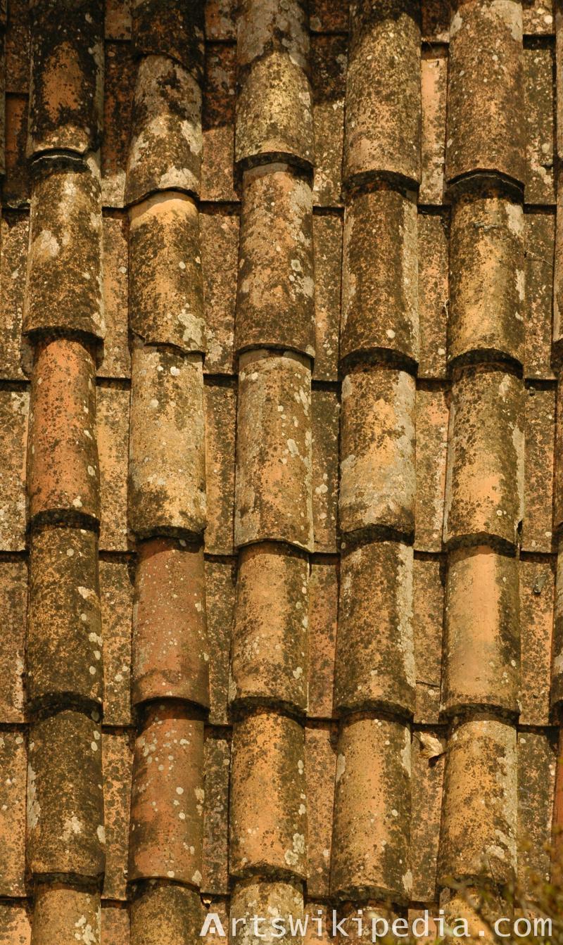 old ceramic shingles