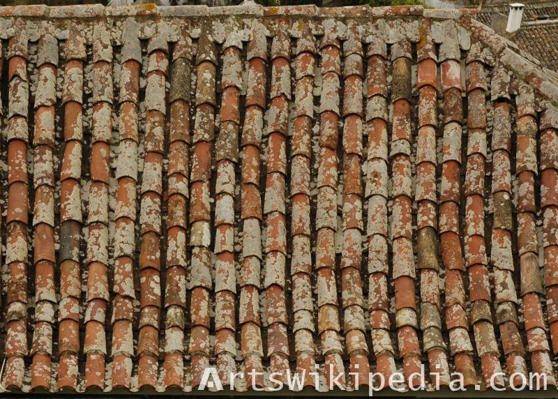 dirty roof texture 3dsmax