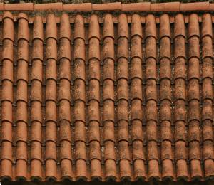 red roof ceramic shingles