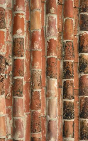 red-ceramic-roof-texture