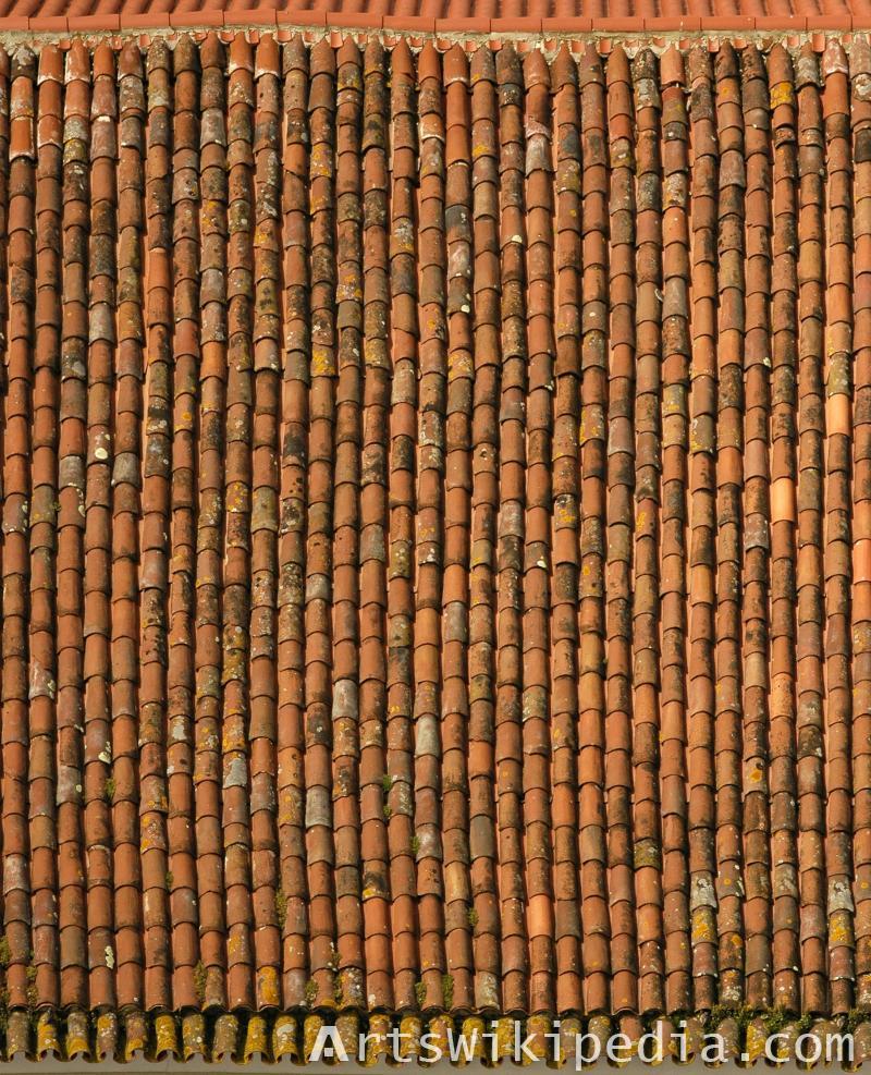 free dirty ceramic roof