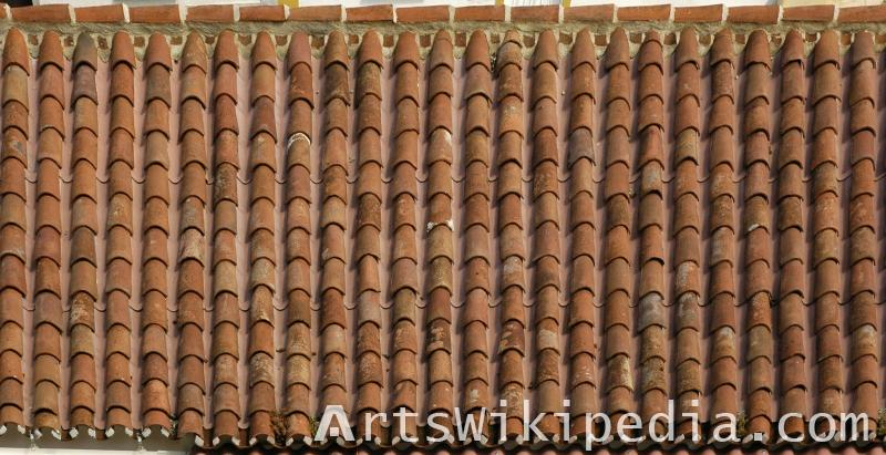 roofing pattern texture