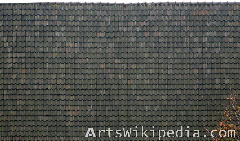 High resolution roof shingles tiles