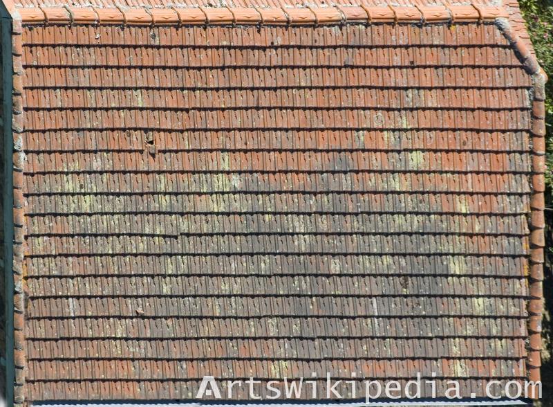 High resolution roof image
