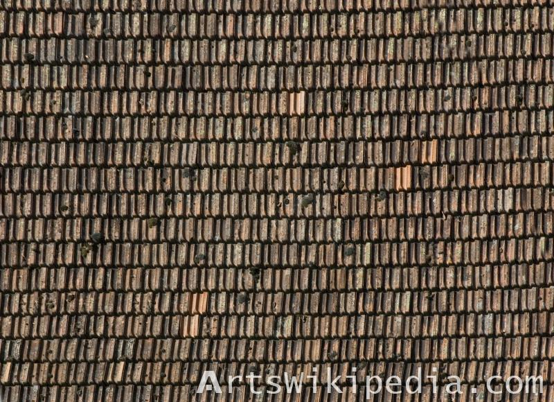 High resolution shingles roofing