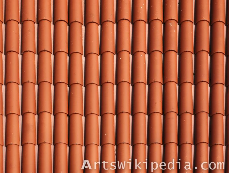 clean roof texture