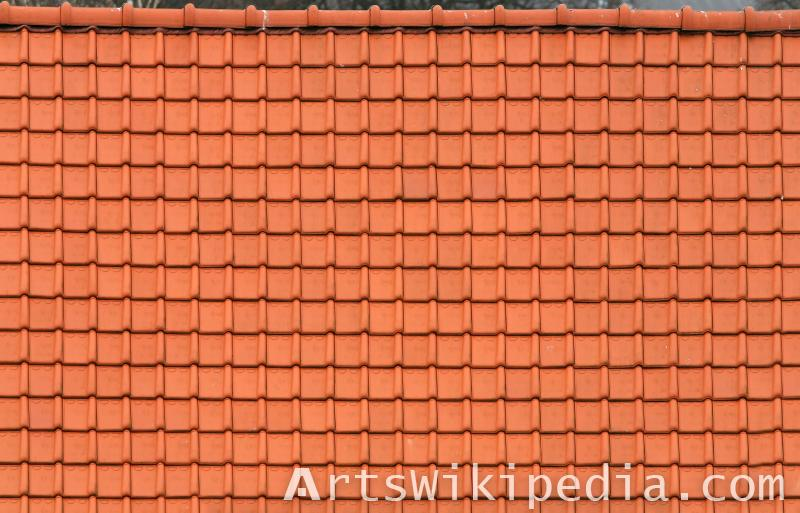 red roof albedo texture