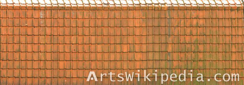 ceramic roofing tile albedo map