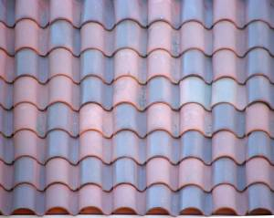 blue-amp-red-ceramic-roof-texture