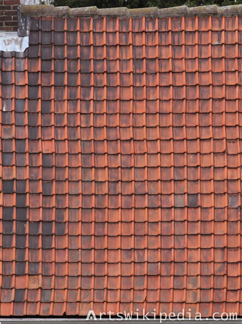 dirty red roof diffuse map