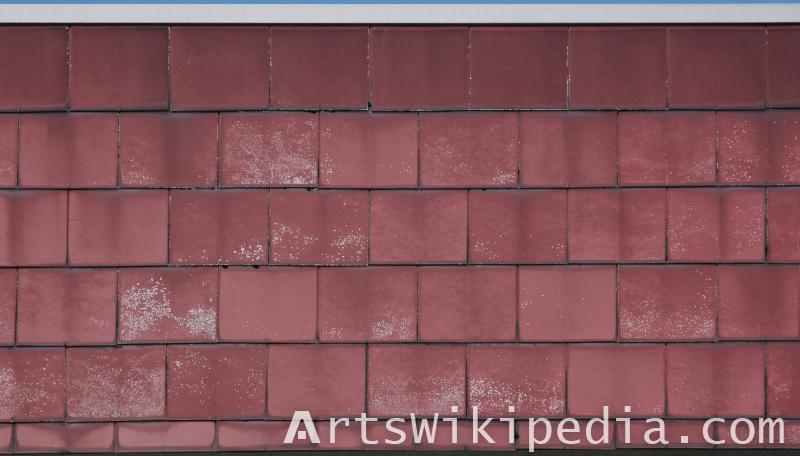 ceramic roof Albedo texture