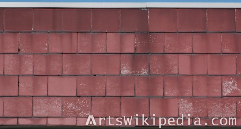 free ceramic roof Albedo texture