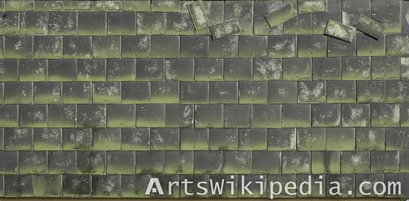 brocken roof Albedo texture