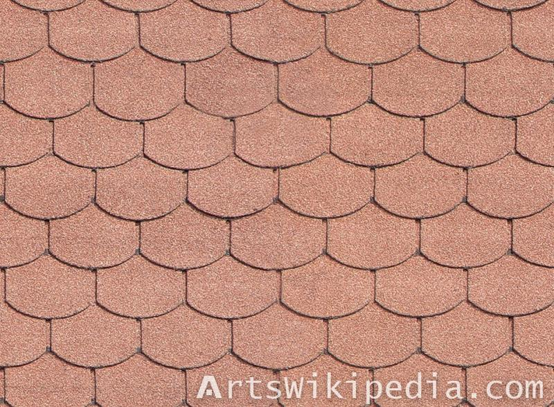 free albedo map shingle texture