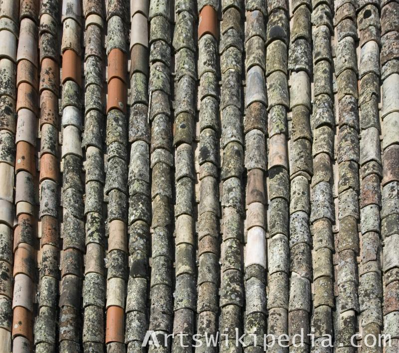 shingles roof old albedo material